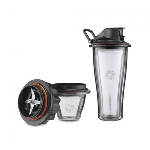 סט כוס אישית וקערית עם בסיס להבים לבלנדר ויטמיקס Vitamix Ascent