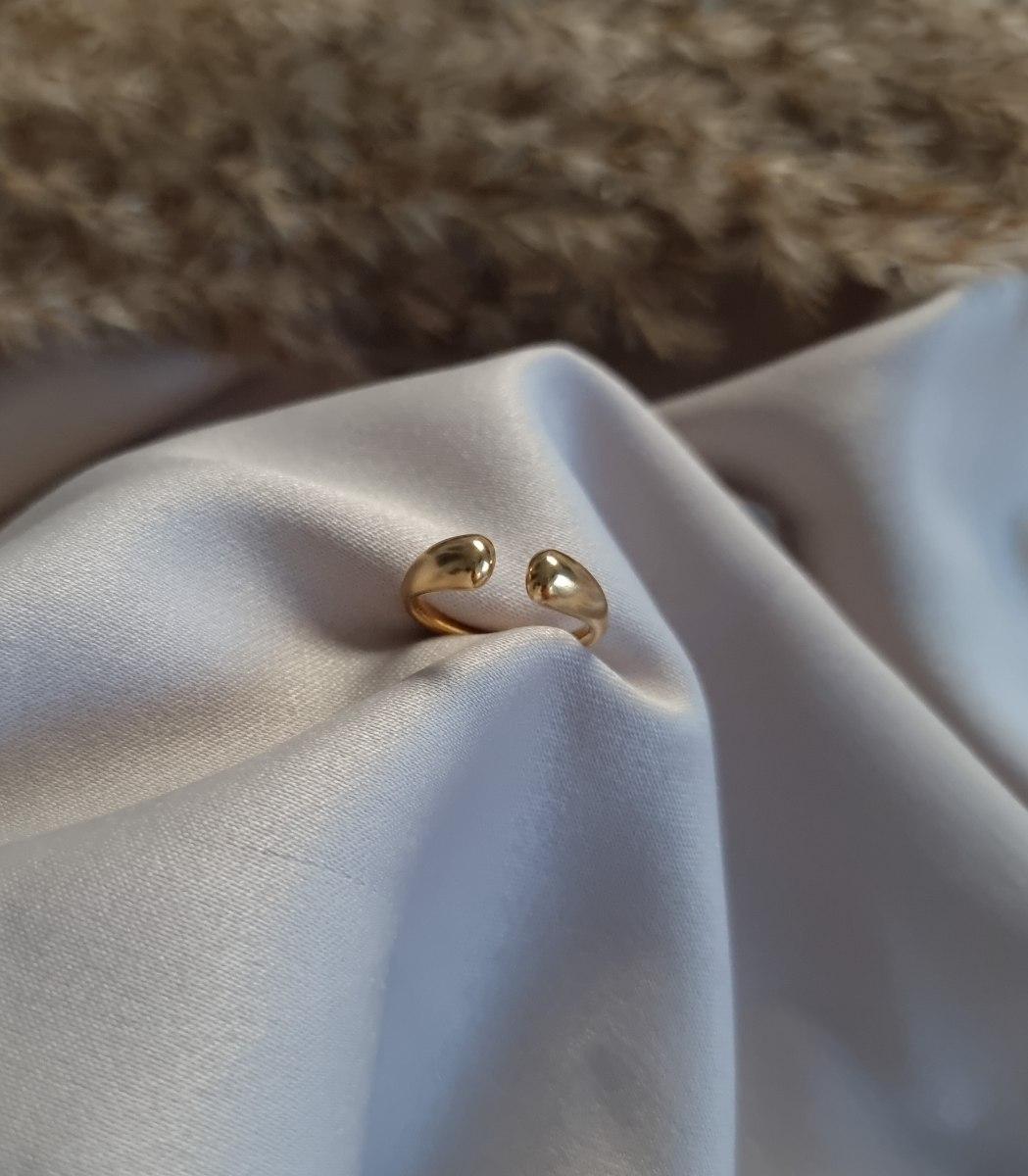 טבעת לילי זהב