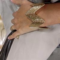 צמיד ZIG ZAG - זהב