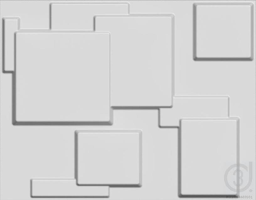 """חיפויי קיר תלת מימדי דגם ''choc'' בגודל 62.5*80 ס""""מ"""