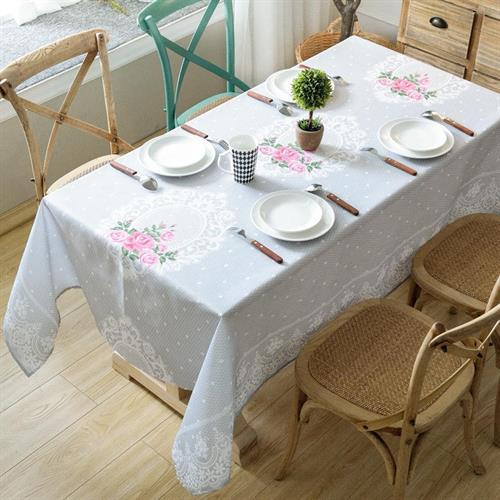 מפת שולחן 150/300 דגם פרחוני