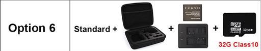 OPTION 6 - מצלמת אקשן  EKEN 4K דגם H9 מקורית! Ultra HD 4K WiFi 1080P/30fps