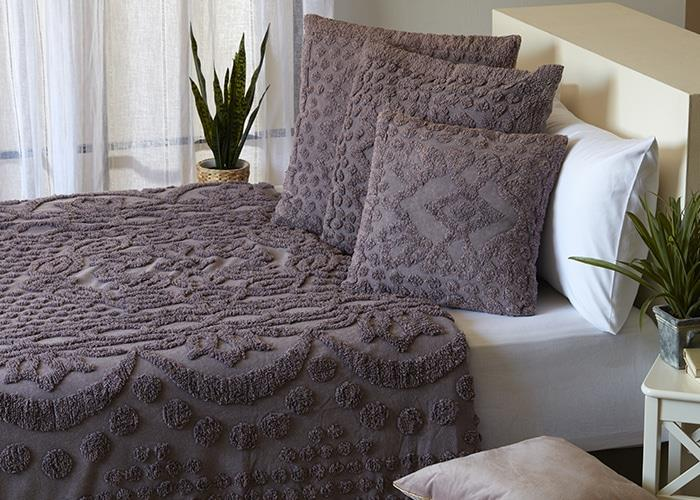כסוי מיטה יחיד דגם גורגיה