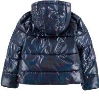 מעיל כחול/ורוד LEVIS מידות 1-7 שנים