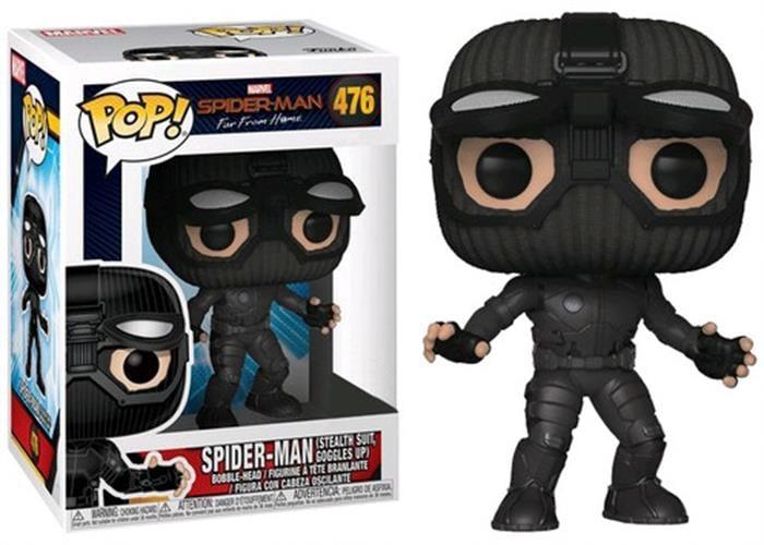 פופ! ספיידר-מן: רחוק מהבית - חליפת התגנבות עם משקפיים למעלה