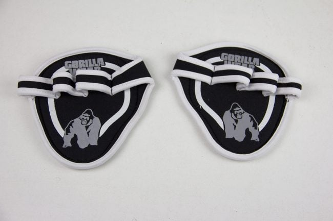 גריפ מקצועי להגנה על כפות הידיים מבית גורילה וואר-Palm Grip Pads Black/Gray