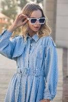 שמלת ג'ינס דגם קים