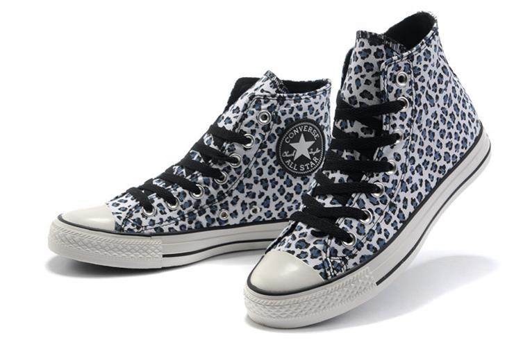 נעלי converse all star leopard נשים במידות 35-39