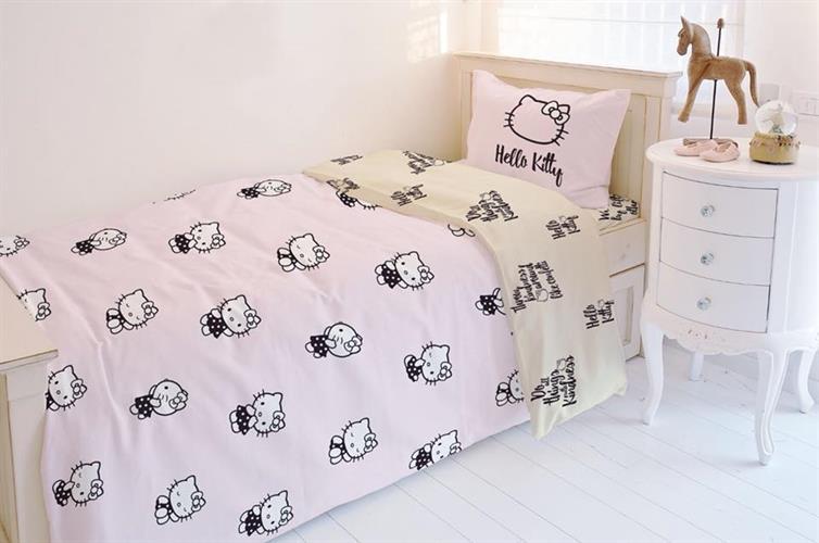 סט מלא  מיטה וחצי דגם קיטי חולמת