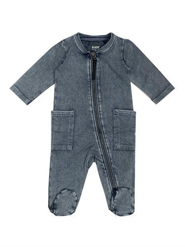 אוברול ג'ינס כחול שטוף MINENE