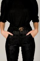 מכנס מייגן מחטב לערב אפור /שחור מיוחד