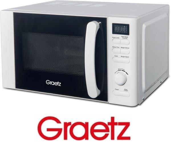 Graetz מיקרוגל דיגיטלי 20 ליטר לבן דגם MW-358