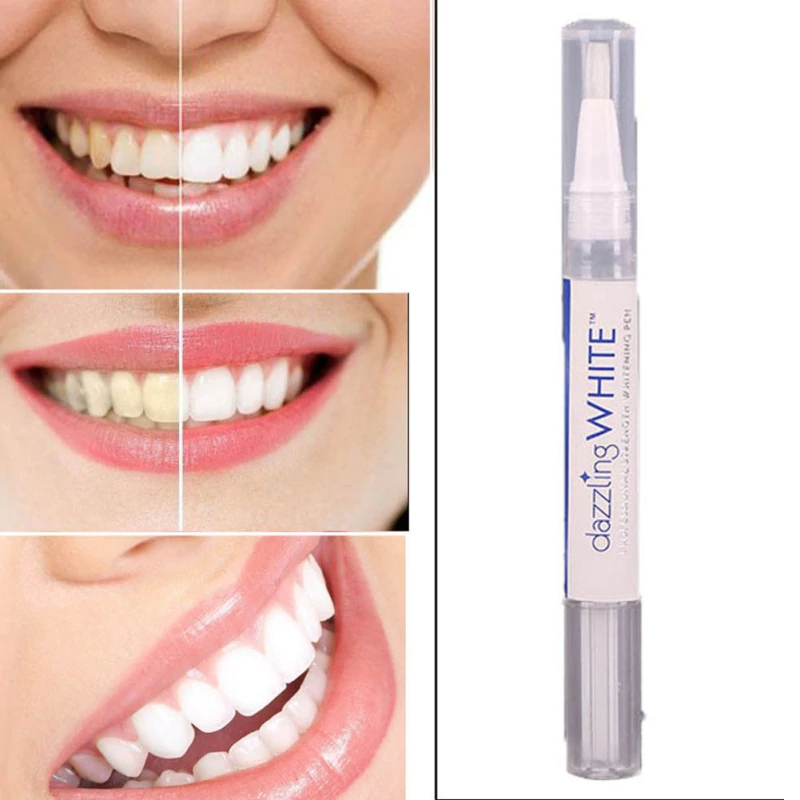 עט ג'ל להלבנת שיניים