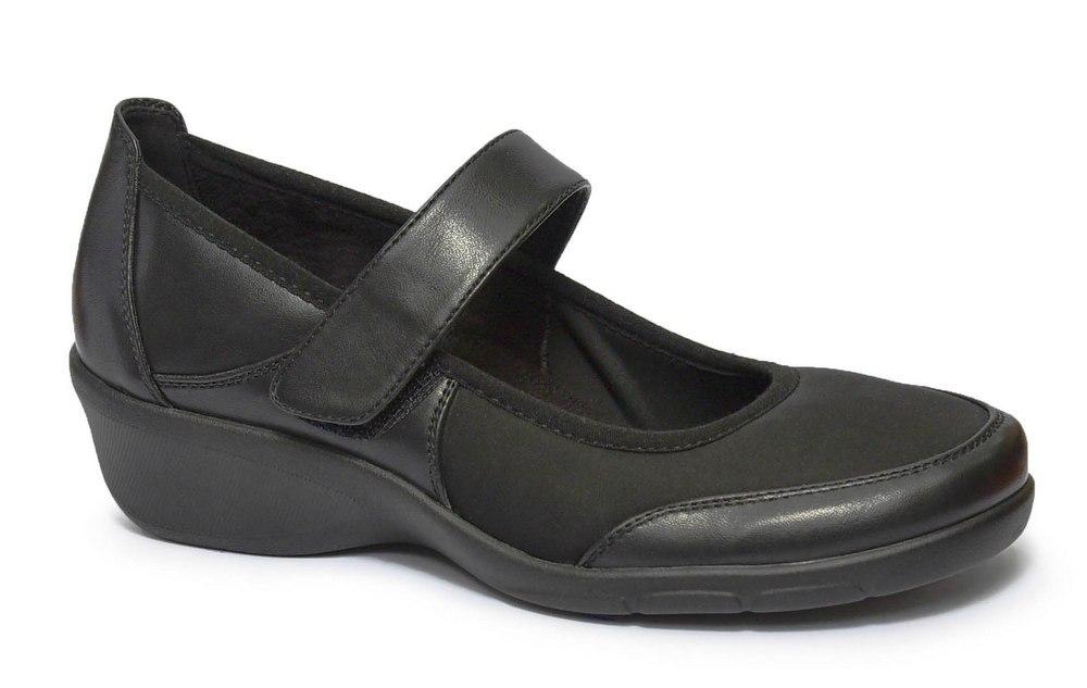 נעל סגורה משולבת לייקרה לנשים דגם - 8020-56G