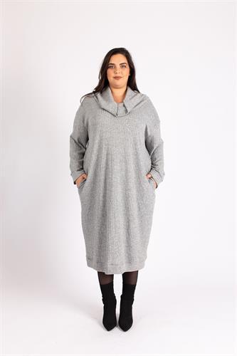 שמלת ריב גולף אפור