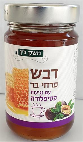 דבש מפרחי בר עם נגיעות פסיפלורה