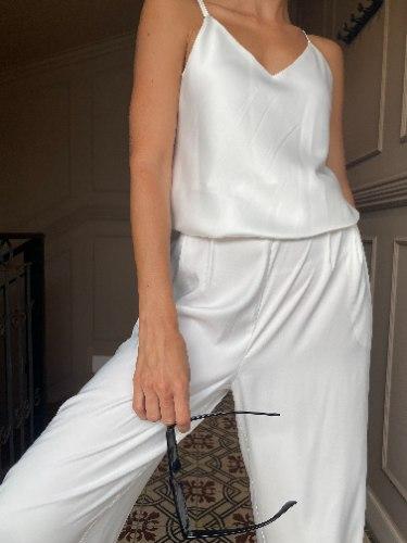 מכנסי CLASSIC - לבנים