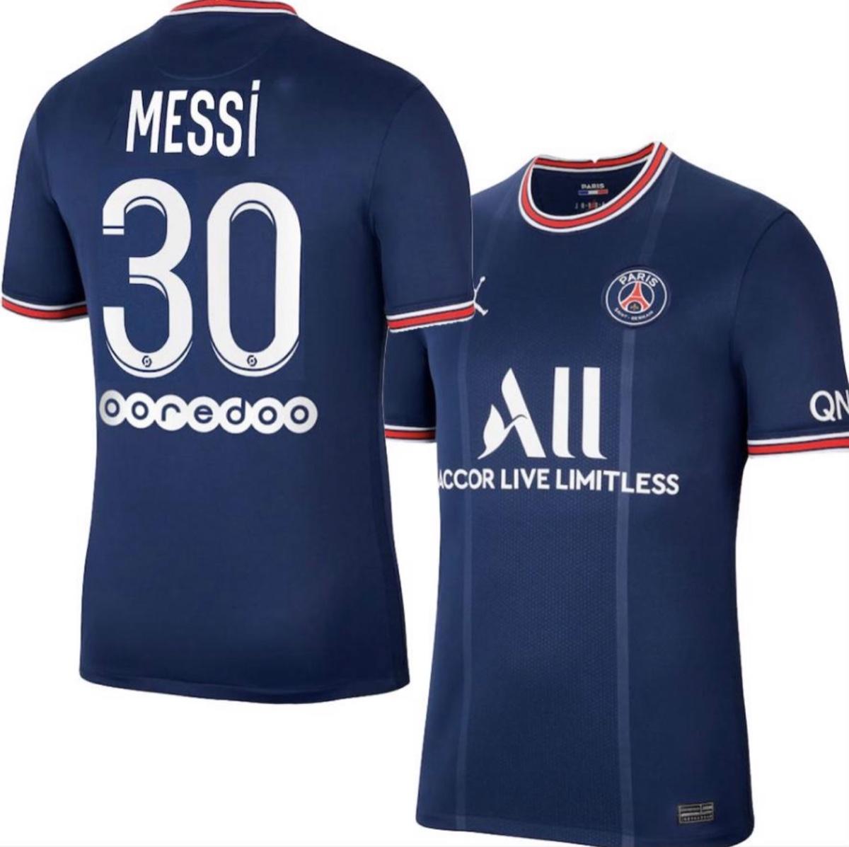 חולצת בית פריס פריז סן ז רמן מסי 30 21 22