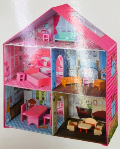 בית בובות מתקפל גדול