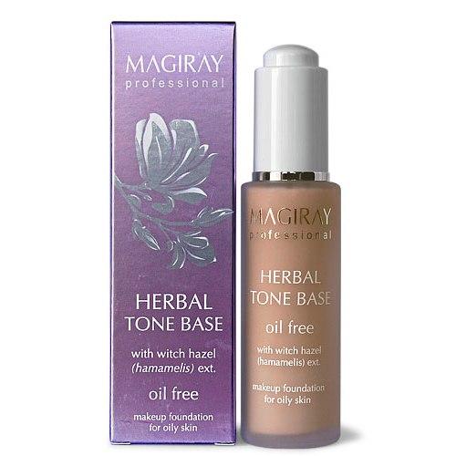 """מאג""""יריי בסיס איפור לעור שמן - Magiray Herbal Tone Base"""