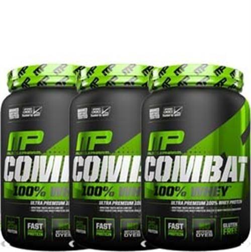 100% אבקת חלבון מאסל פארם קומבט | Combat 100% Whey