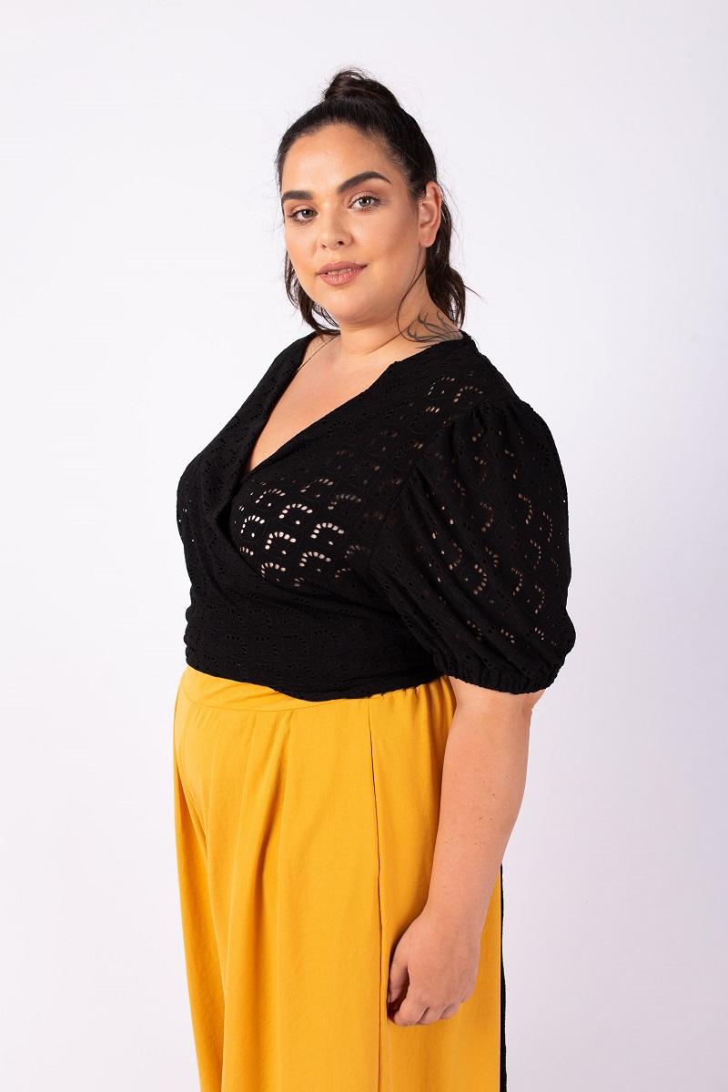 חולצת גרייס שחורה