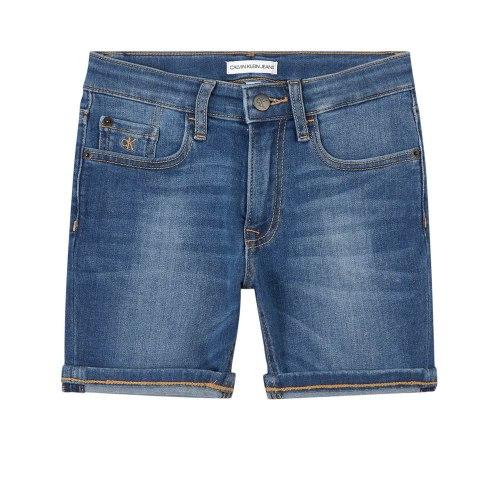 ג'ינס קצר CK כחול 4-16