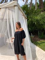 שמלת דונטה שחורה