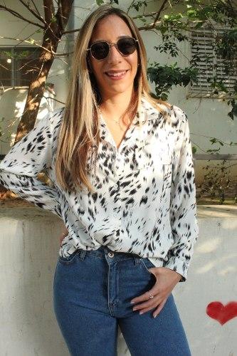 חולצת אוליבר לבן