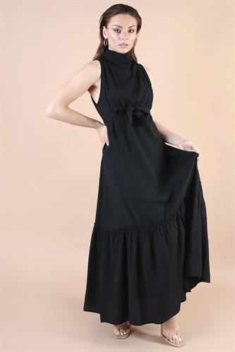 שמלת ערב שירז שחורה