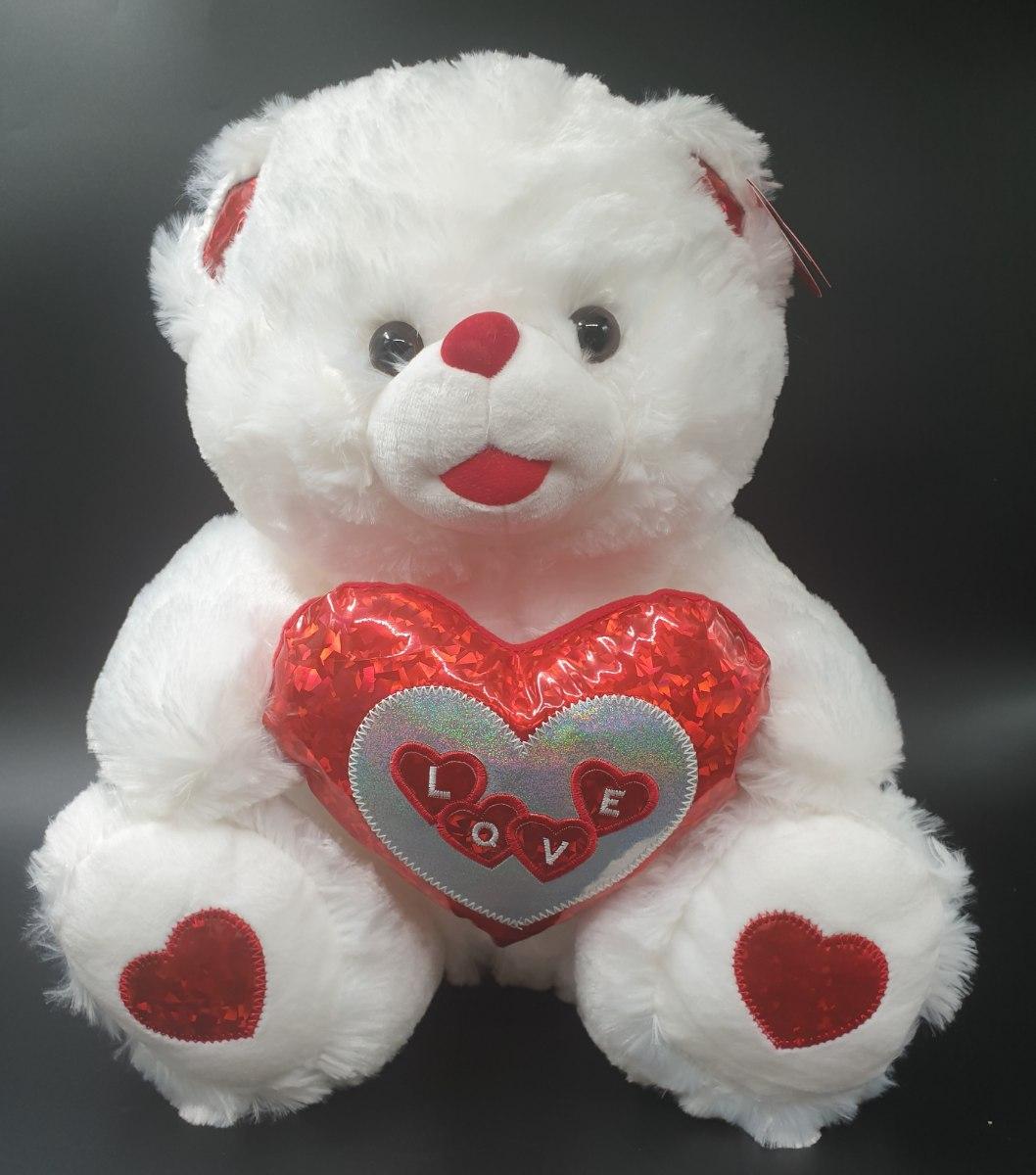 דובי עם לב 40סמ מקט155