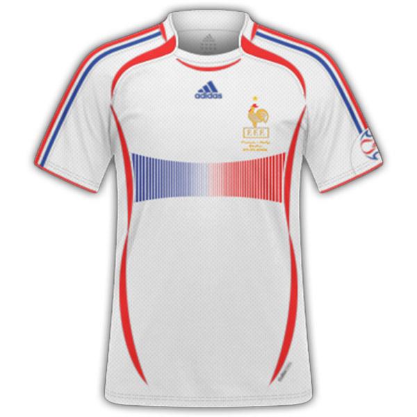 חולצת עבר צרפת חוץ 2006