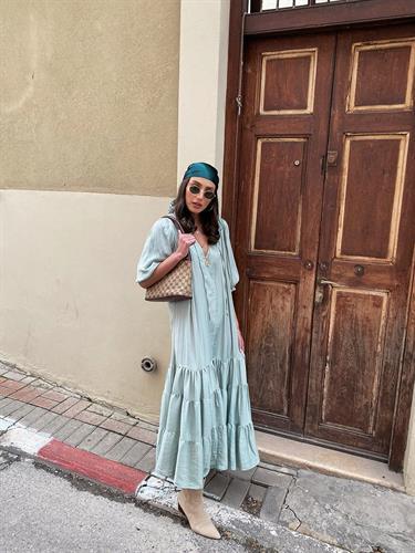 שמלת נולה - פיסטוק