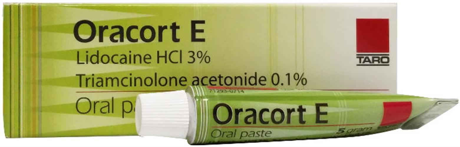 אורקורט אי 5 גרם    Oracort E 5g