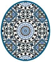 שטיחון ומדבקה לאסלה סנטוריני דגם 246