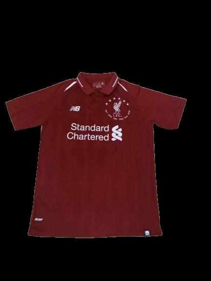 חולצת כדורגל אליפויות על החזה| ליברפול