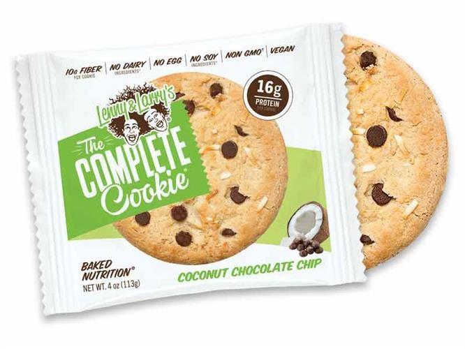 עוגיות חלבון lenny & larry's קוקוס| כשר טבעוני