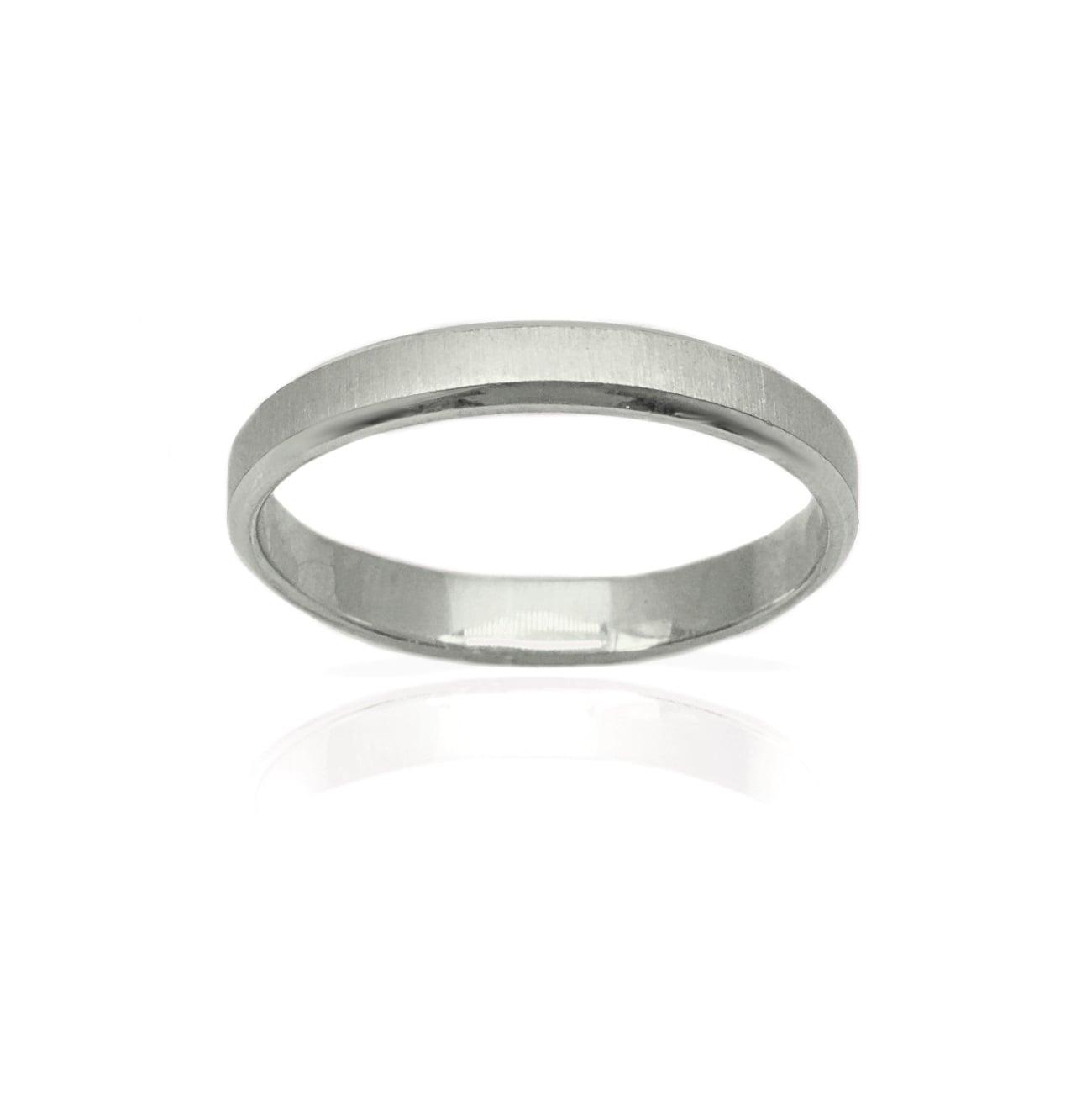 טבעת נישואין דקה - דגם M92