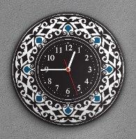 שעון קיר מעוצב, זכוכית אקרילית, דגם 2025  TIVA DESIGN