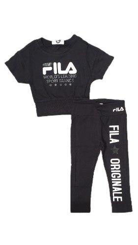 חליפת טייץ וחולצה (FILA (2-16