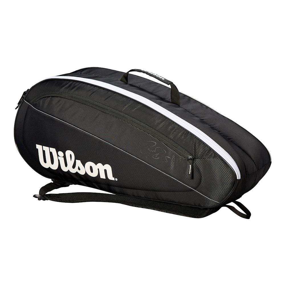 תיק טניס 2 תאים Wilson Fed Team