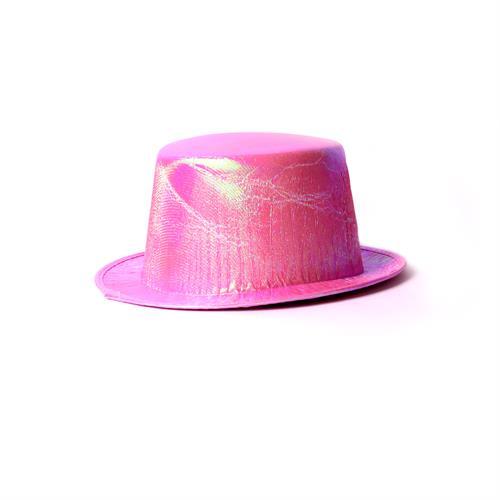 כובע מגבעת מבריק מעורב צבעים