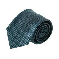 עניבה קלאסית ריבועים ירוק בקבוק