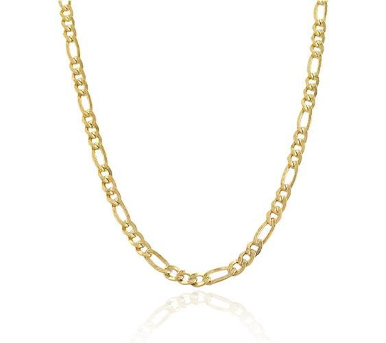 שרשרת חוליות לגבר זהב 14K דגם פיגרו