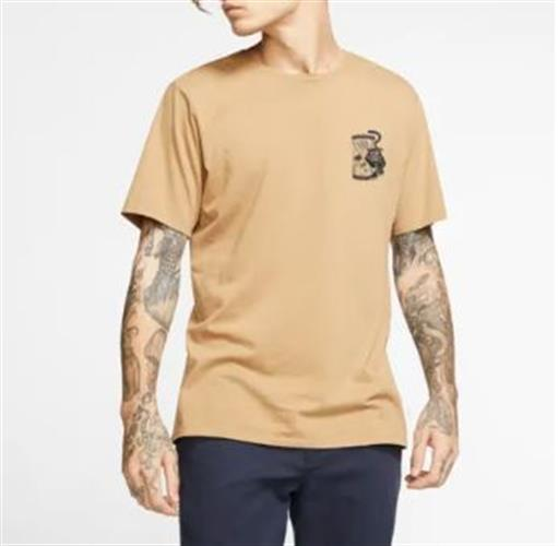 HURLEY BENZO PANTHER GLASS S/S TEE