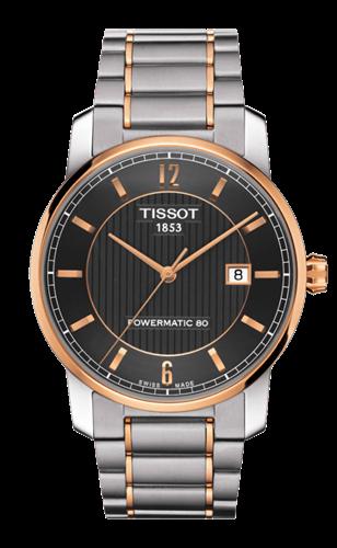 שעון יד אנלוגי אוטומטי גברים TISSOT  T087.407.55.067.00