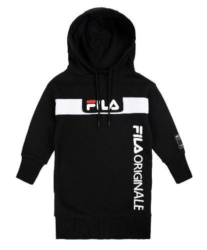 שמלת פוטר שחורה FILA - מידות 4 עד 16 שנים