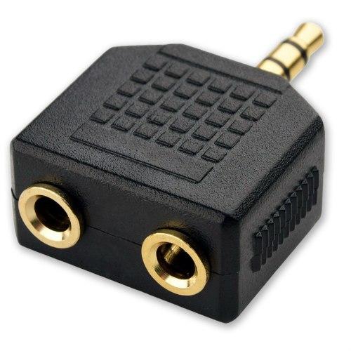 מפצל אוזניות לחיבור אוקס 3.5mm איכותי