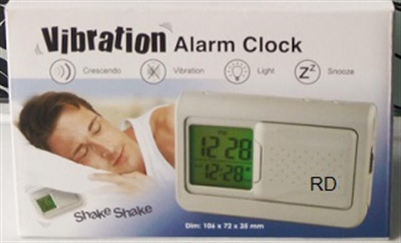 שעון מעורר דיגיטלי רוטט GOLF vibration