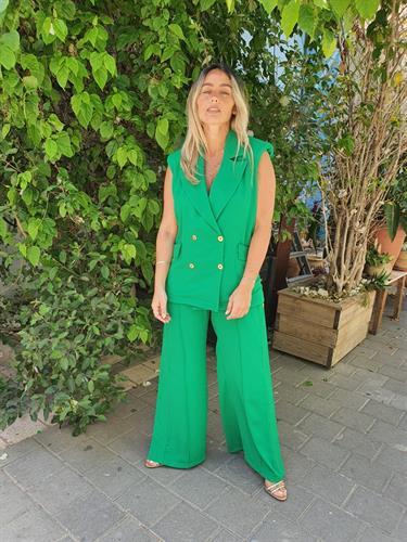 חליפת SAIL ירוק
